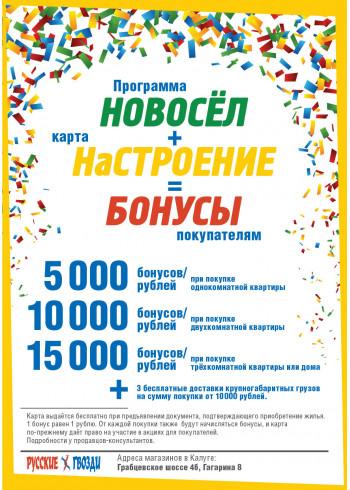 Программа Новосел