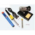 Набор для пайки (Паяльник 220В 30Вт, оловоотсос, подставка, припой) REXANT 12-0163